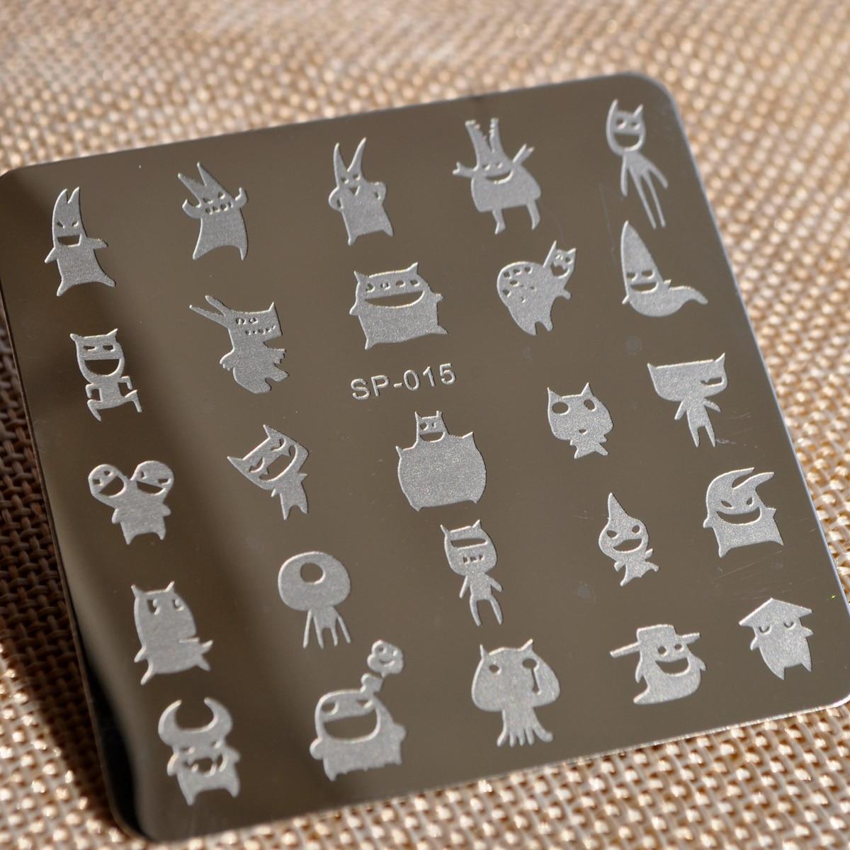 Forma cuadrada Harajuku expresión diseño placa dragón fantasma ...