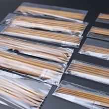 11 tamanhos 55 pçs/set 13 centímetros Pontas Duplas Carbonizado Bambu conjuntos de ferramentas Kit de Agulhas de Tricô de Malha Doméstica Dark Patina 2.0 milímetros 5.0mm