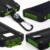 Nueva Prueba de Agua Solar Banco de la Energía 10000 mah Dual USB Cargador de Batería Solar Con Linterna LED Brújula para todo el teléfono