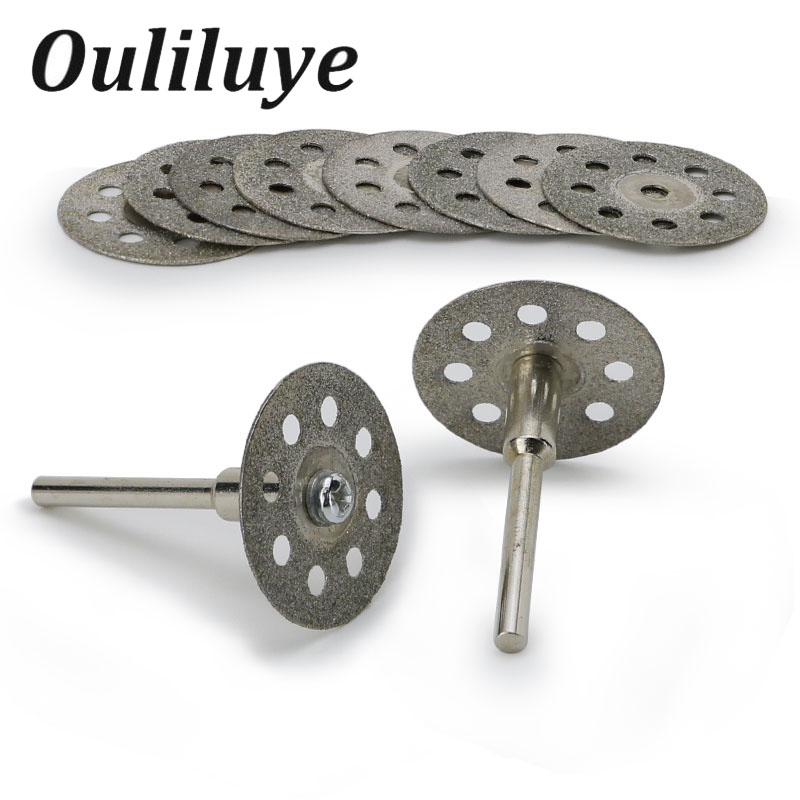 20 /22/25mm For Dremel Diamond Grinding Wheel Saw Mini Circular Saw Cutting Disc Abrasive Saw Blade For Dremel Drill Rotary Tool