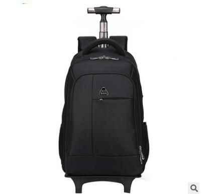 c8a6ccc32dbd Wo для мужчин путешествия рюкзаки с колёса бизнес дорожные сумки на колесиках  чемодан тележка Mochila Оксфорд