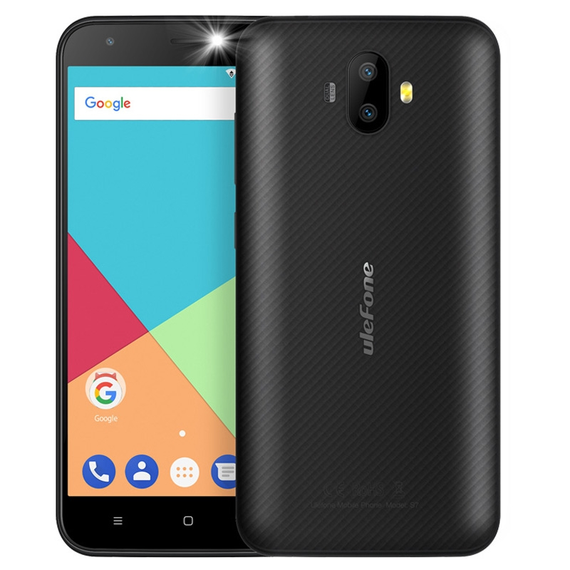 Original Ulefone S7 Dual Rear Cameras Mobile Phone Android 7 0 MTK6580A Quad Core 5 0