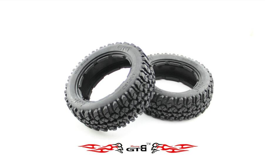 GTBRacing All Terrain Front tire (x 2pcs/set 170*60)  For 1/5 HPI Baja  5B  5T 5SC карандаш для глаз make up factory automatic eyeliner 06 цвет 06 terra variant hex name 6d544b