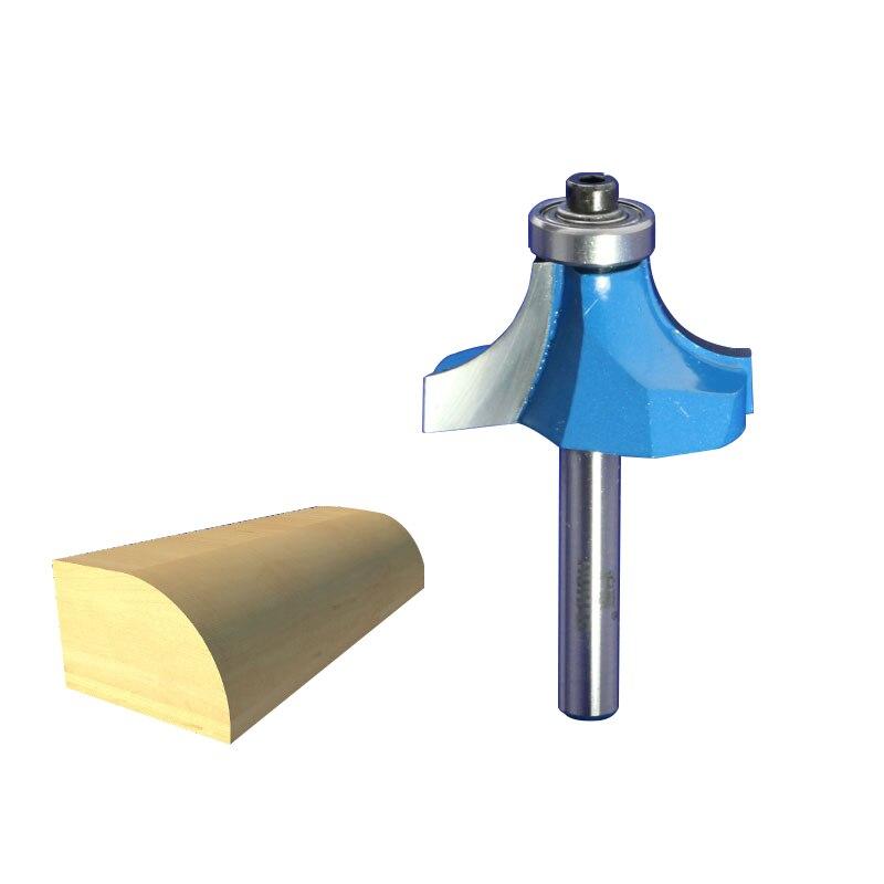 1pcs 1/4*R7/16 Corner Rounding Chamfer Cutter Frazier Milling Cutter Knife Tool Fresa Router Bit For Wood Fresa 9353