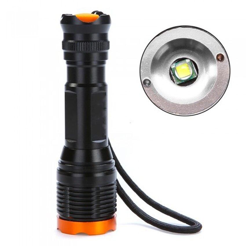 3 W CREE-XPF LED lampe de Poche Étanche IP67 Lampe De Poche En Utilisant AAA ou 18650 Batterie Au Lithium Rechargeable Led Lampe de Poche