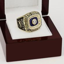 Sólido 1972 Miami Dolphins Super Bowl anillo de campeonato de fútbol 10-13Size con alta calidad caja de madera regalo mejor afición