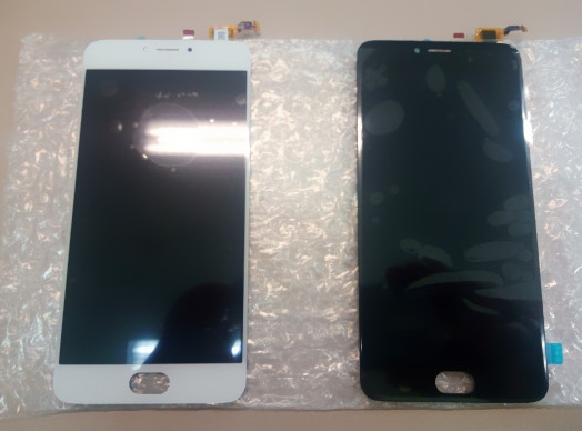 """For Meizu L681H LCD Display+Digitizer Touch Screen Replacement Accessories 5.5"""" White Black for Meizu m3 note L681H gold frame"""
