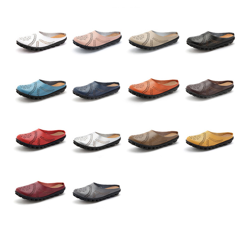 XY 991 Cut Outs Women's Summer Flats Shoes -1