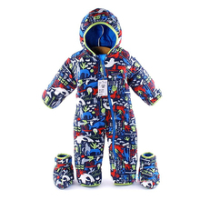 mark down cotton baby Rompers winter fat boys costume girls warm baby infant Snowsuit overalls children outerwear clothes