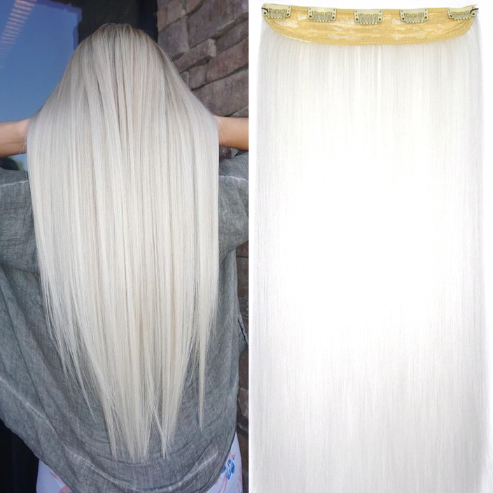hair extensions white