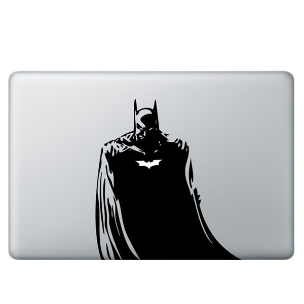 quality design fee25 88c71 US $10.76 |Cool Banksy Style Batman Vinyl Decal Stickers Laptop Skin Case  For Apple MacBook Pro / Air 13 Inch Laptop Cover Shell Stickers-in Laptop  ...