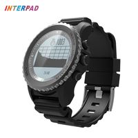 Interpad GPS Smart Watch IP68 Waterproof Heart Rate Monitor Thermometer Altimeter Pedometer Smartwatch For Xiaomi Huawei Clock