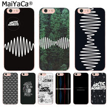 MaiYaCa Alternatieve Rock Band Arctic Monkey Nieuwe Fun Telefoon Case voor iphone 11 pro 8 7 66S Plus X 10 5S SE XS XR XS MAX Cover(China)