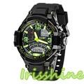 Irisshine A121 Unisex couple watches New Multi Function Military Digital LED Quartz Sports Wrist Watch Waterproof men women