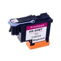 C4822A Magenta compatível cabeça de impressão para HP80 1000 Designjet 1050c 1055 Cabeça Do Cartucho de Tinta para hp 80 Cartuchos