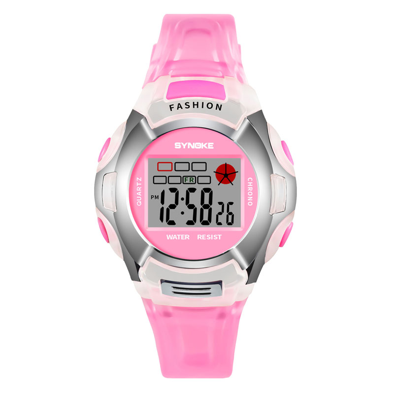 Children Digital Watches Shockproof Waterproof Luminous Wristwatch Kids Alarm Clock Boys Girls Sports Led Watch VL