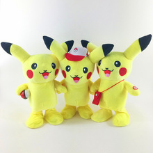 Pocket Monster Monster Electric Plush Picacho Elf Ball Pocket Monster Kids Toy Pocket Monster