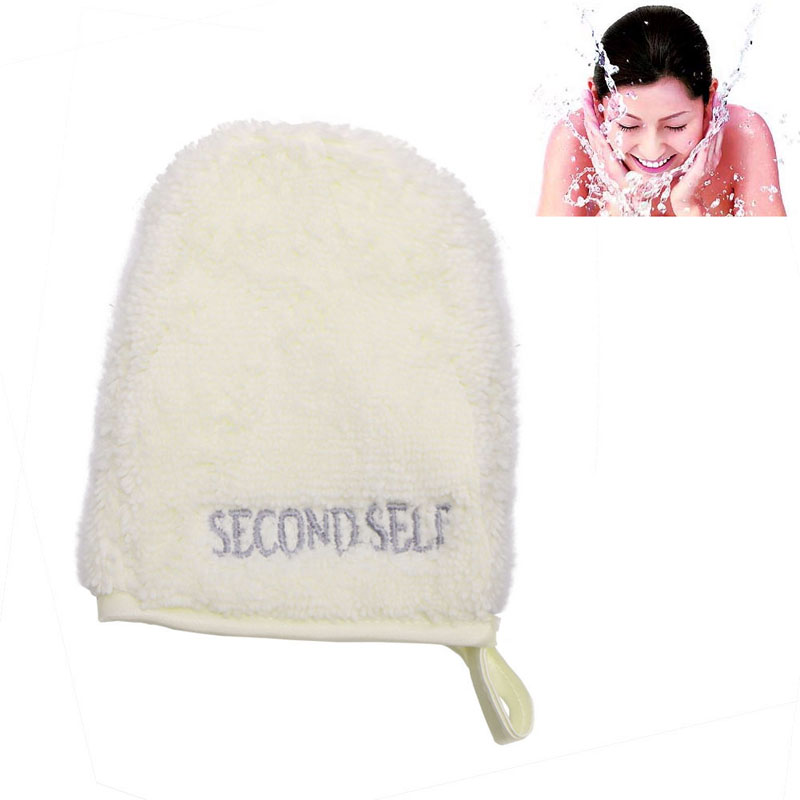 Beauty Reusable Facial Cloth Face Towel Makeup Remover Cleansing Glove Tool 1PC