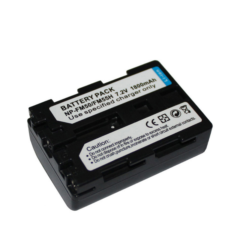 1800mAh for sony NP-FM50 NPFM50 Digital camera battery Camcorder DSC-S30 DSC-S50 DSC-S70 DSC-S75 DSC-S85 MVC-CD200