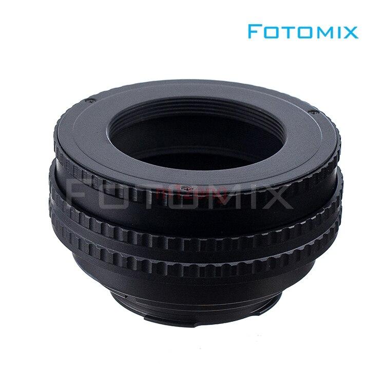 M42-LM M42 objectif à lm caméra de montage 17mm-31mm adaptateur hélicoïdal de mise au point 17-31 Tube d'extension Macro - 3