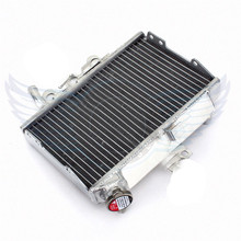 Motorcycle Parts Aluminium Replacement Grille Guard Cooling Cooler Radiator Left Moto for Honda CR 125 1998 1999