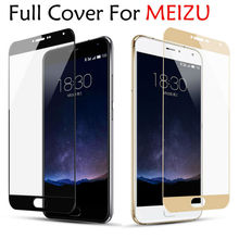 GerTong Full Cover Tempered Glass for MEIZU M3S Mini M5S M5 Note M5C MX6 M6 Note Screen Protector for Meizu M3E M3 Note Pro 6 7