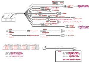 Image 2 - 업그레이드 어댑터 케이블 배선 하네스 케이블 사용 audi a3 8 v bang & olufsen 오디오 스피커 미디어 b & o 시스템에 적합