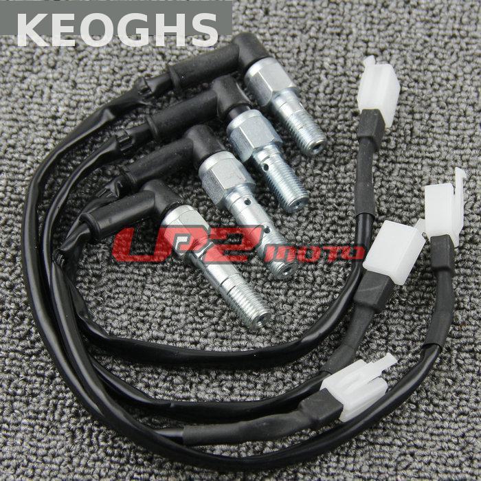 KEOGHS 10x1.25mm 10x1mm Motorcycle Hydraulic Brake Clutch Pressure Callipers Cylinder Pump Light Switch Banjo Bolt 4 Size|banjo bolt|brake clutch|motorcycle hydraulic - title=