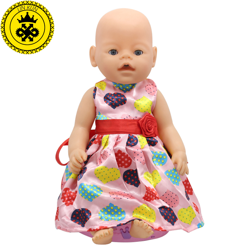 Baby-Born-Doll-Accessories-15-Styles-Princess-Dress-Doll-Clothes-Fit-43cm-Baby-Born-Zapf-Doll-Clothes-Birthday-Gift-D4-2