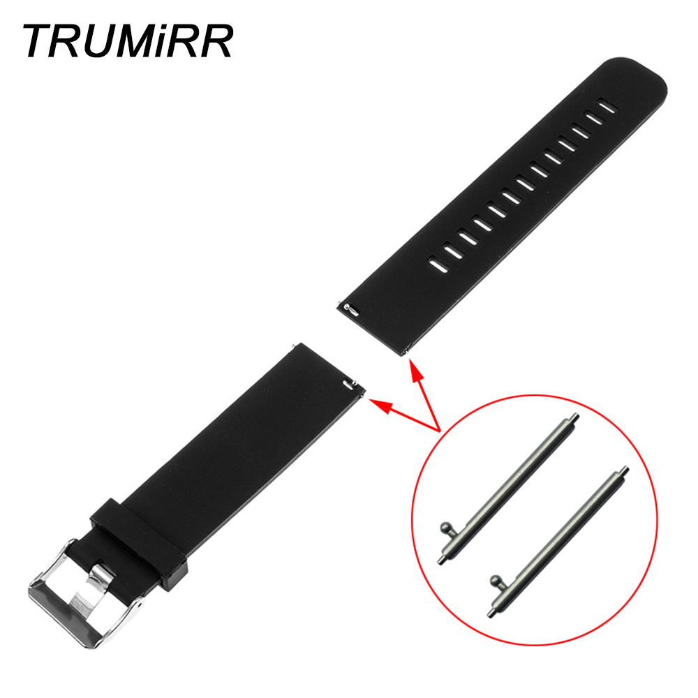 18mm 20mm 22mm Silicone Rubber Watchband for Tissot T035 <font><b>PRC</b></font> <font><b>200</b></font> T055 T097 Watch Band Quick Release Pin Strap Bracelet 6 Colors image