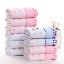 Cartoon Romantic Bear Towel Set Home Seaside Hotel Beach 100 Cotton For Kids Spa Bath Face Hand Soft Thick Towel asciugamani cheap Compressed Quick-Dry Machine Washable Printed dobby Woven Square 5s-10s Set-190321-02 Home Hotel Adults Kids Spring Summer Autumn Winter