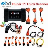 2017 Original XTUNER T1 Trucks Diagnostic Tool Wifi USB OBD2 OBDII Scanner For 24V Heavy Duty Trucks Support Online Update