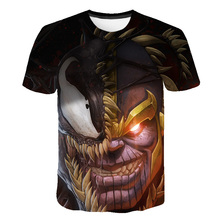 New Arrive Popular Anime Movie Venom T Shirt Men Women 3D Print Fashion Short Sleeve Tshirt Streetwear Casual Summer Tops M-5XL