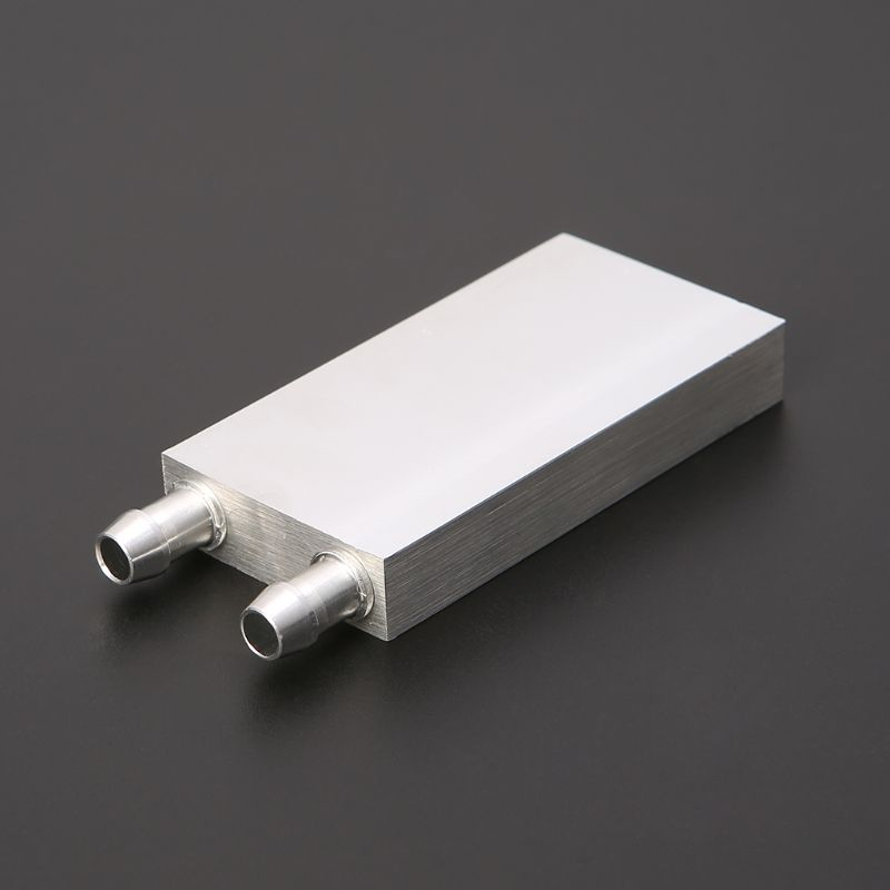 30*30mm Primary Aluminum Water Cooling Block Heat Sink System For PC Laptop CPU T3LB
