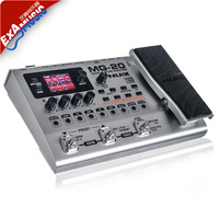 NUX MG 20 Multi functional Guitar Modeling Processor with 60 Effect Models 72 Preset Drum Machine Looper Function EXP/VOL Pedal