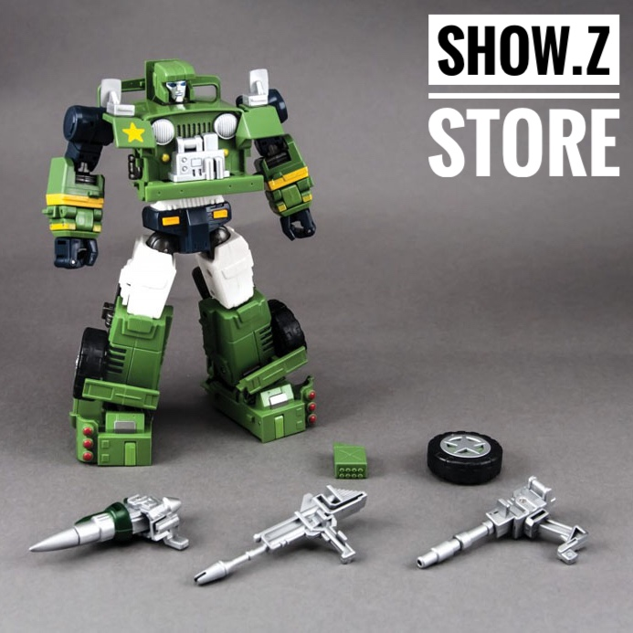 [Show.Z Store] MakeToys MT RM-02N GunDog Hound Transformation Action Figure managing the store