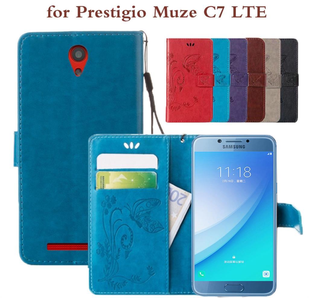 Phone Pouch Flip Case For Prestigio Muze A3 C3 A5 Shell Cover For Prestigio Grace Q5 Shell For Prestigio Wize D3 K3 N3 F3 Fashion Leather Cellphones & Telecommunications