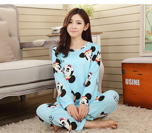 Foply Pajamas 2020 Spring Women Ladies Sexy Satin Pajamas Sets Long Sleeve Tops+Pants Sleepwear Mujer Nightwear Pyjama Femme