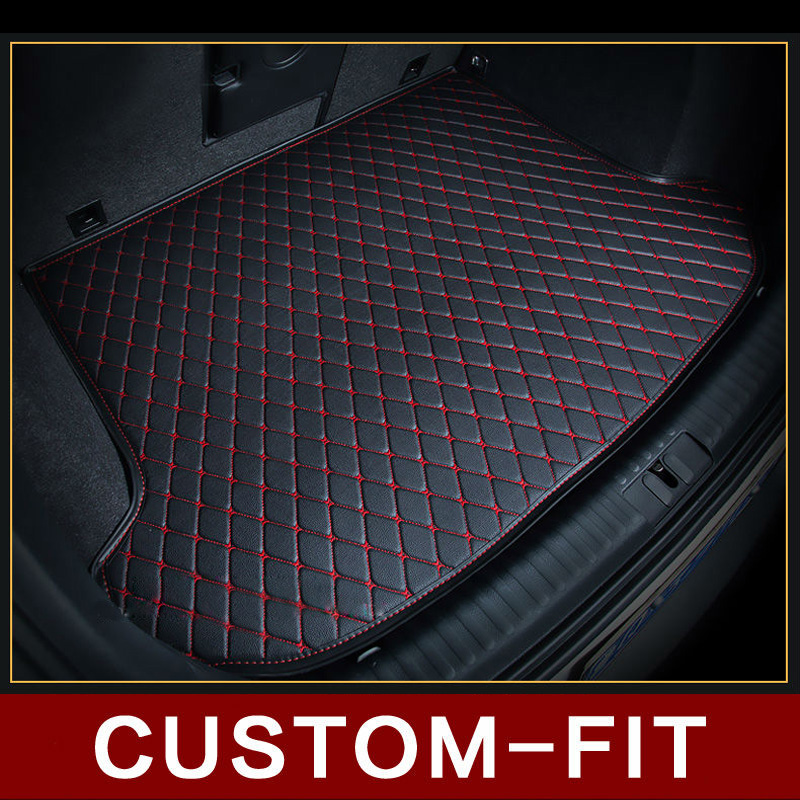 Custom fit car trunk mat for MITSUBISHI ASX CARISMA COLT ECLIPSE EVO GALANT LANCER L200 car-styling tray carpet cargo liner for mitsubishi asx lancer 10 9 outlander pajero sport colt carisma canbus l200 w5w t10 5630 smd car led clearance parking light