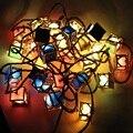 1 X 220V 3m 28led Lantern Package LED String Light Festival/Wedding/Home/Bar/Christmas Tree Decorative Interior String Lights