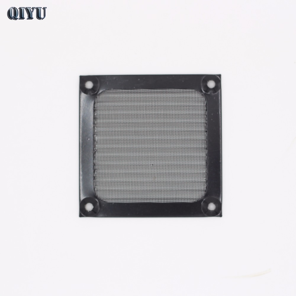 Metal Dust Filter, 8 Cm PC Computer Chassis Cooling Fan Dust,S80-MF Black Aluminum Mesh,8025 8038 Fan Grill