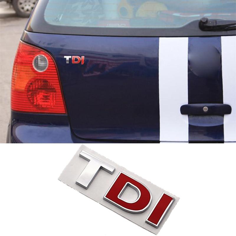 For Volkswagen VW Polo Beetle Golf 4 5 7 6 Passat B5 B6 B7 T5 Touran Bora Caddy Tiguan Sharan Jetta TDI Badge Emblem Car Sticker gt1749v 720855 5005s 720855 038253016f turbo turbocharger for audi a3 for volkswagen vw bora golf iv 2001 asz pd ui 1 9l tdi