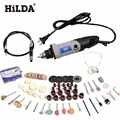 HILDA 400W 94PCS Zubehör Mini Elektrische Bohrer mit 6 Position Variabler Geschwindigkeit für Dremel Rotary Werkzeuge cnc werkzeuge power tools