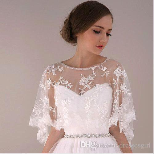 Wedding Gown Wraps: 2016 Cheap Arabic Jewelry Cape With Beaded Crystal Bridal