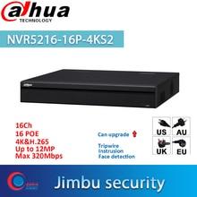Dahua POE NVR 16 Channel 1U 16 PoE port 4K video recorder H 265 Pro NVR