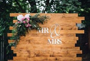 Image 4 - צילום רקע מותאם אישית שם עץ תפאורות חתונה רקע תמונה סטודיו ויניל 7X5FT