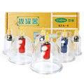 6 taças médica chinesa vacuum corpo cupping vacuum cupping set massagem terapêutica portátil dezenas acupuntura massageador magnético hijama h