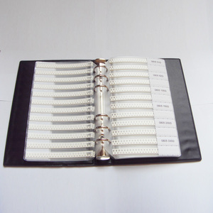 Image 4 - Ücretsiz kargo 0805 SMD Örnek Kitap 37 values 1875 adet Direnç Kiti ve 17 values 600 adet Kapasitör Seti