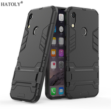Cover Huawei Y6 2019 Case Rubber Robot Armor Shell Hard PC Back Phone for Honor 8A