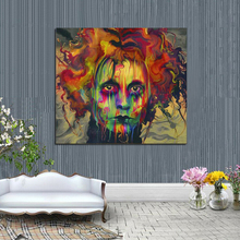 Pure Hand Painted High Quality Abstract Edward Portrait Oil Painting On Canvas Decorative Wall Pictures Home Decor